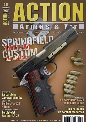 Action Armes & Tir n°341 sep/oct 2011