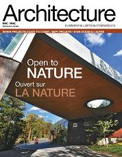 Architecture Canada n°17 2nd semestre 2014