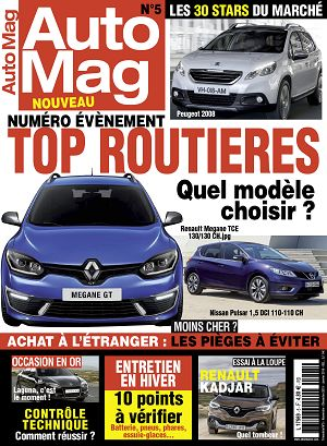 Auto Mag  n°5 nov-déc 15/jan 2016