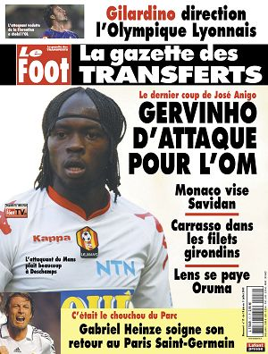 Gazette des Transferts n°17 18 jun 2009