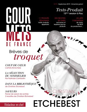 Gourmets de France n°31 sep/oct 2019