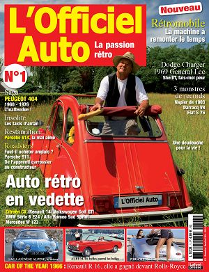 L'Officiel Auto n°1 mar/avr 2016