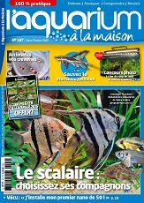 L'aquarium à la maison n°107 jan/fév 2015