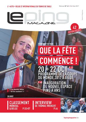 Le Ping Magazine n°42 sep/oct/nov 2017