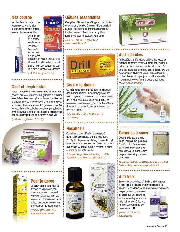 foto de Santé revue Seniors n°26 jan/fév/mar 2016 - Page 84 - 85 - Santé ...